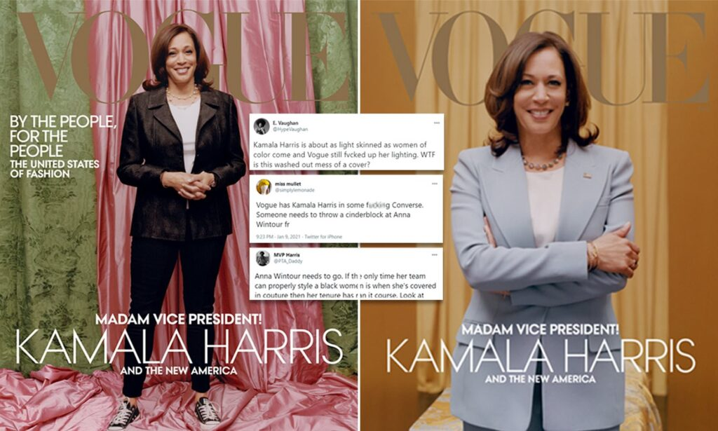kamala Harris Vogue