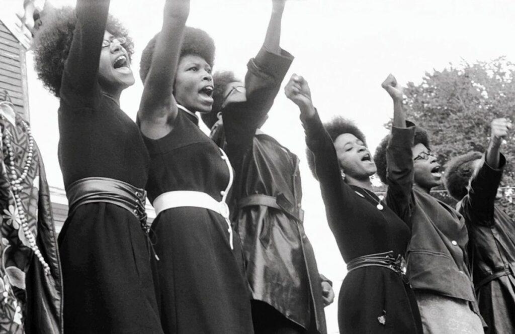 manifestazione donne di colore