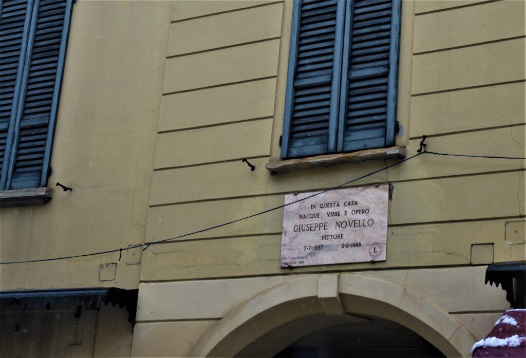 casa natale di Giuseppe Novello, Greta Contardi